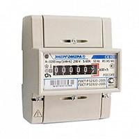 Счетчик электроэнергии однофазный однотарифный СЕ 101 R5 145М(6) 5-60А 220В,1.0, DIN ОУ Энергомера